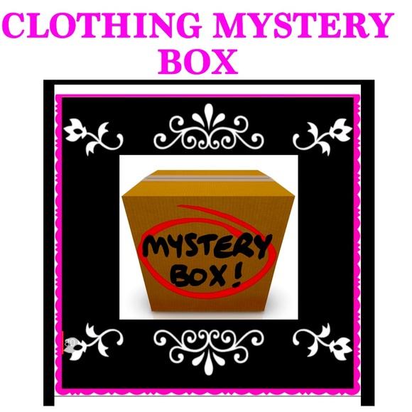 💜CLOTHING MYSTERY BOX